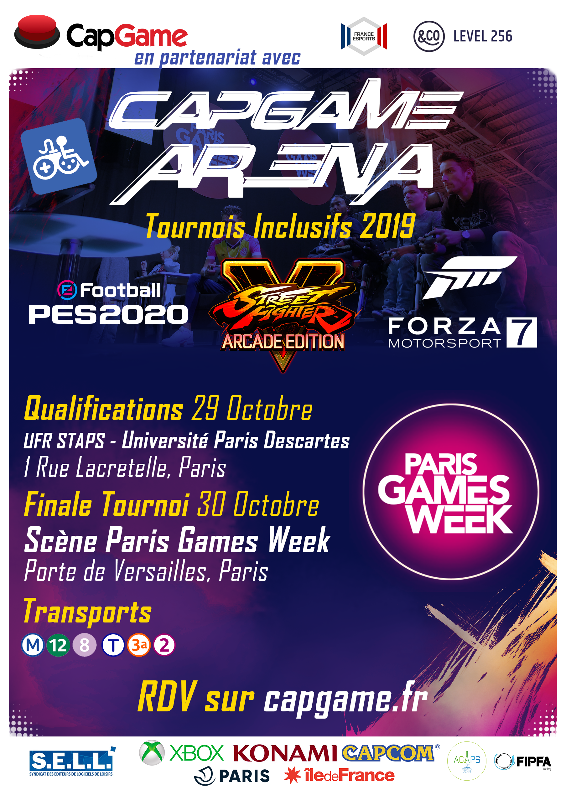Capgame Arena PGW
