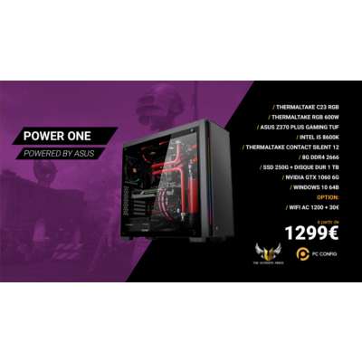 PC CONFIG - POWER ONE