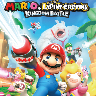 MARIO+THE LAPINS CRETINS KINGDOM BATTLE DONKEY KONG ADVENTURE