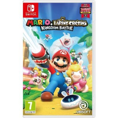 MARIO+THE LAPINS CRETINS KINGDOM BATTLE