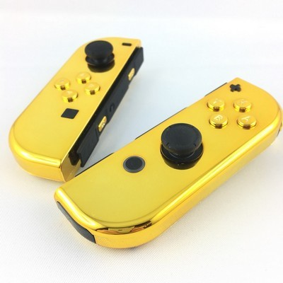 Joycons Switch - Gold Chrome
