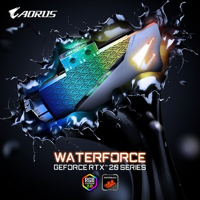 AORUS GeForce RTX™ 2080 Ti XTREME WATERFORCE WB 11G