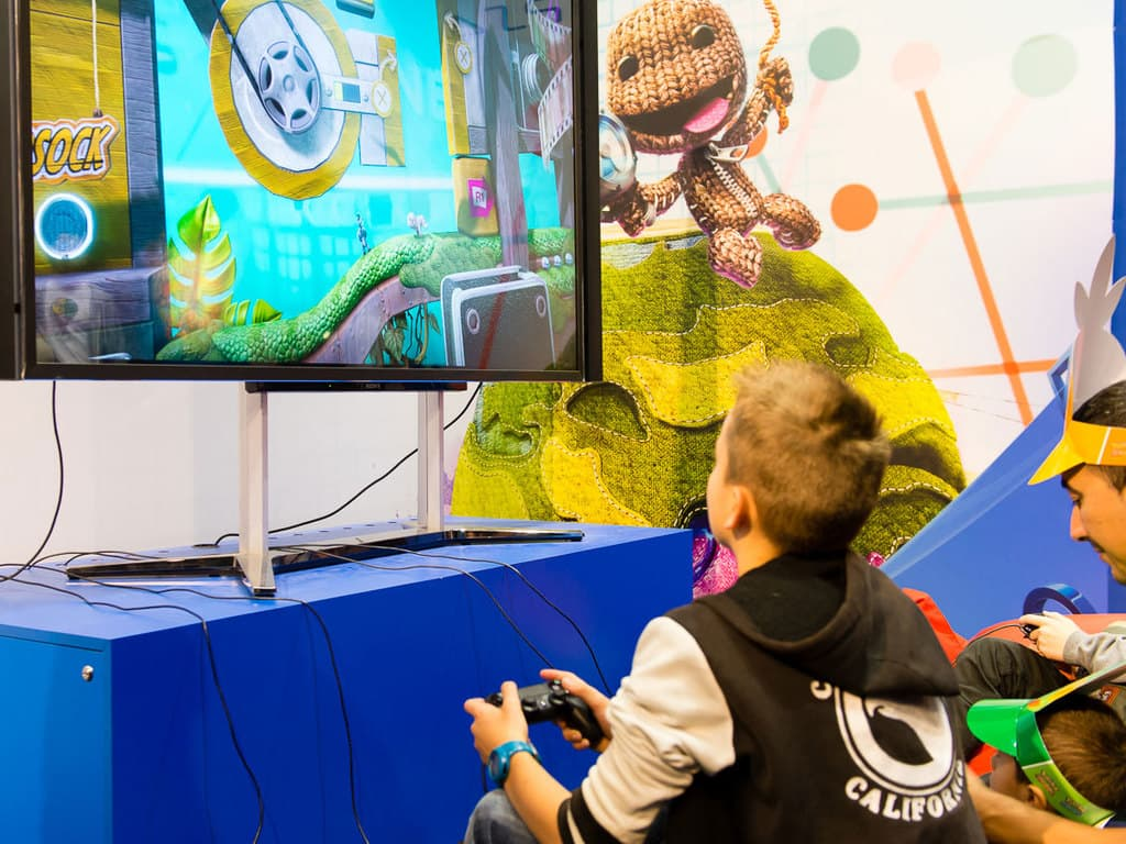 PGW - 2014 - PGW Junior - Little Big Planet - Sony - PS4