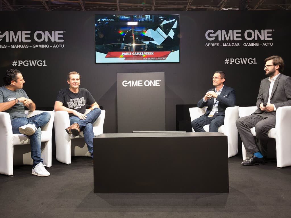 Stand Game One, Julien Telouck interview Emmanuel Martin et Jean Claude Ghinozzi (SELL)