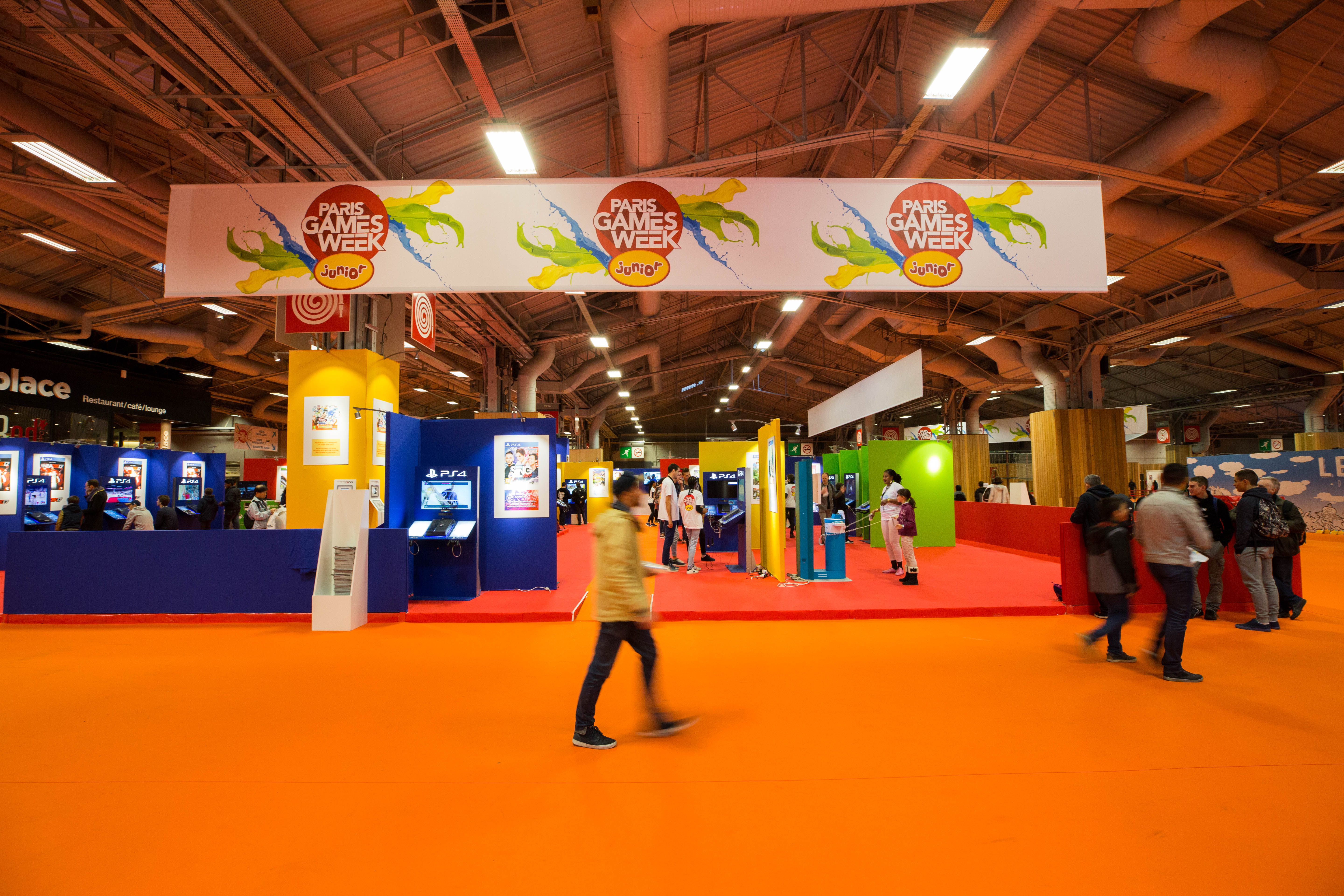 Paris Games Week Junior 2016