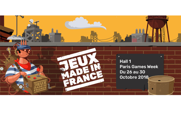 Jeux Made in France s'installe au HALL 1 !