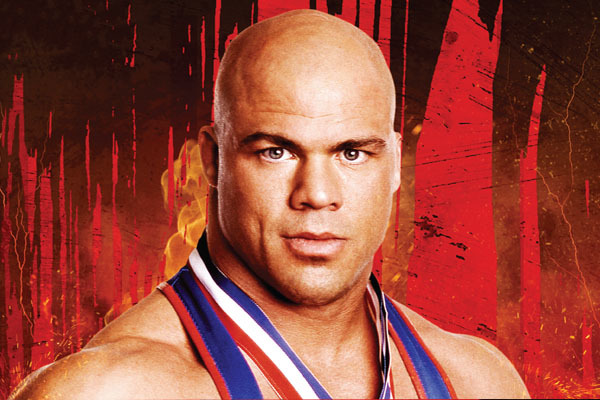 Visite de Kurt Angle à la Paris Games Week