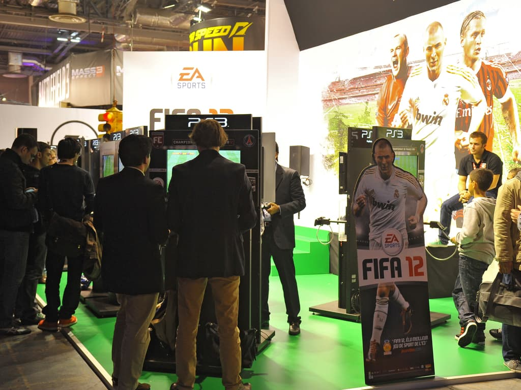 PGW - 2011 - EA - Fifa 12 - Sony - PS3