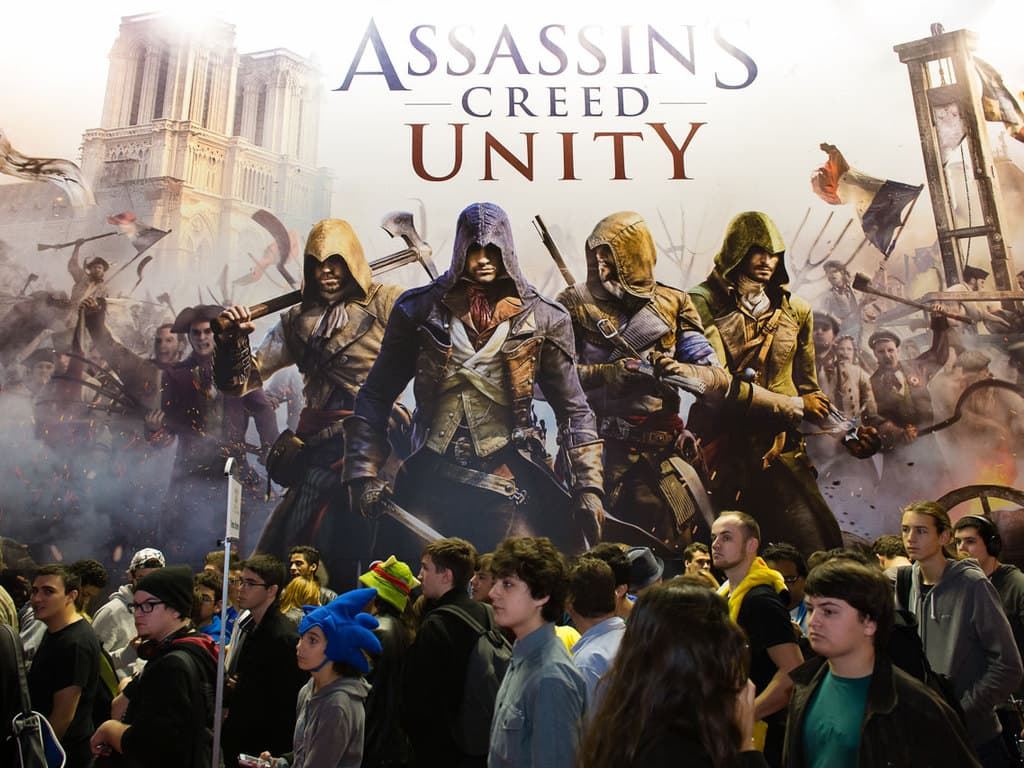 PGW - 2014 - Assassin's Creed Unity - Foule - Ubisoft