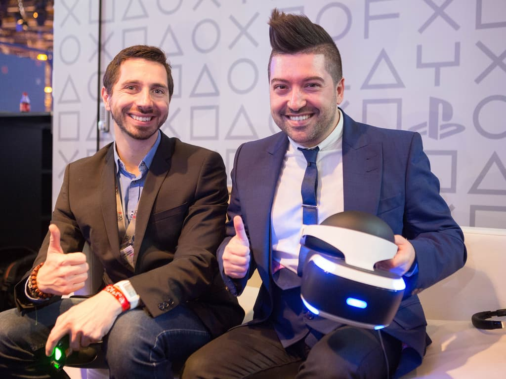 Chris Marquez, après sa session Playstation VR