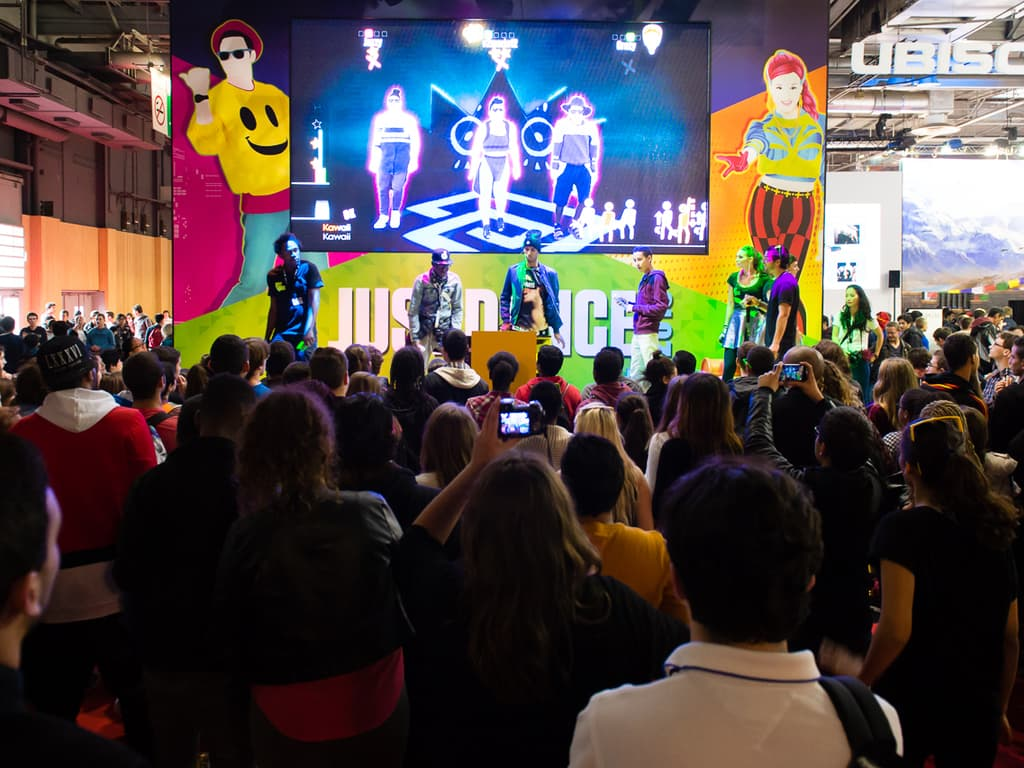 PGW - Mercredi 29 Octobre 2014 - Just Dance 2015 - Ubisoft - Public