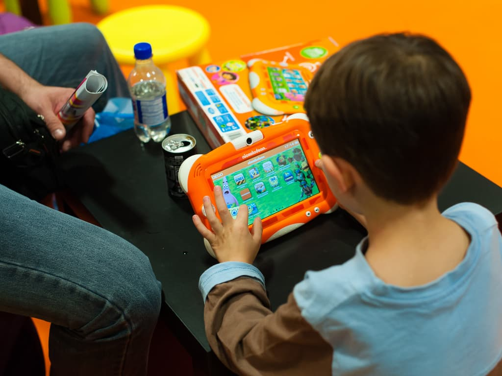 PGW - Jeudi 30 Octobre 2014 - Paris Games Week Junior - Tablette Nickelodeon