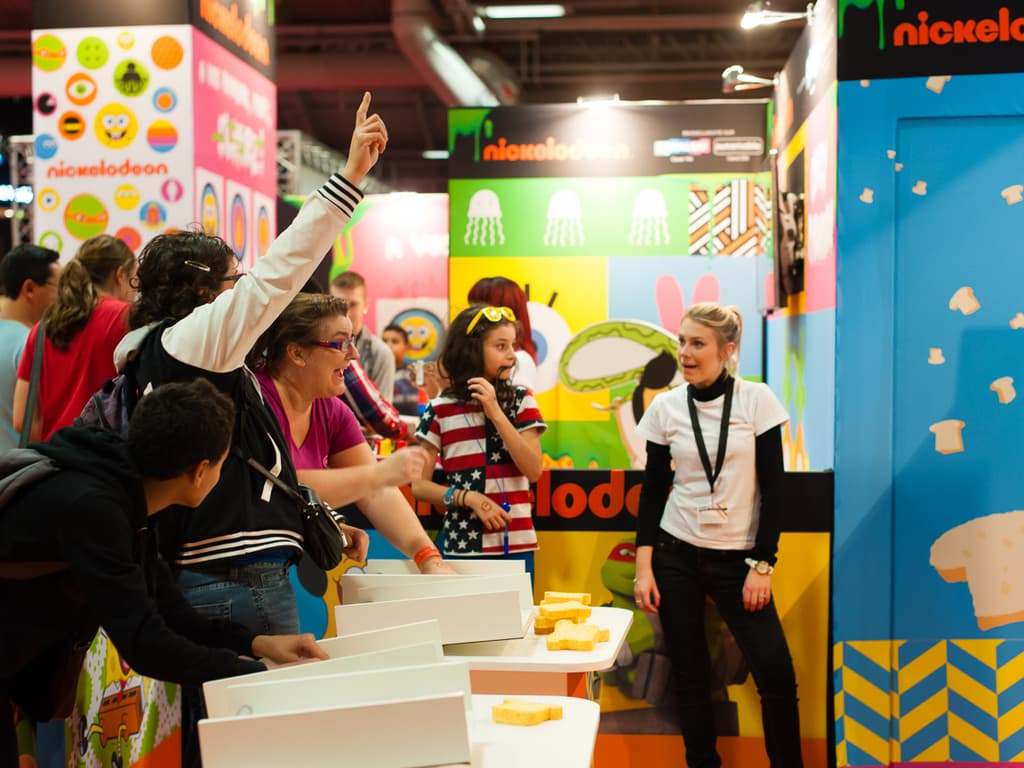 PGW - Jeudi 30 Octobre 2014 - Paris Games Week Junior - Nickelodeon