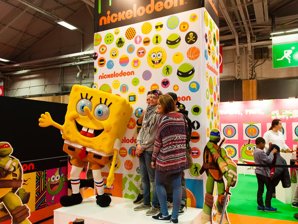PGW - Jeudi 30 Octobre 2014 - Paris Games Week Junior - Nickelodeon - Bob l'éponge - Tortues Ninja