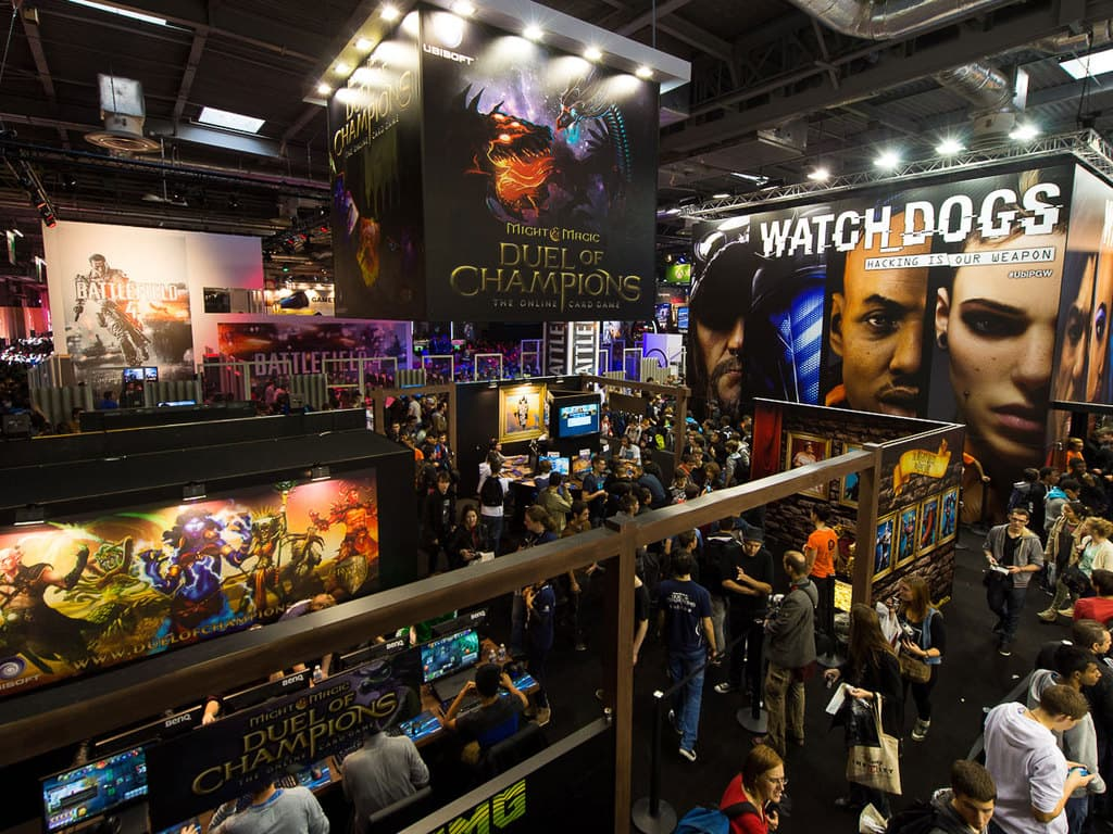PGW - 2013 - EA - Battlefield 4 - Ubisoft - Duel of champions - Watch Dogs - Kinect Sports Rivals